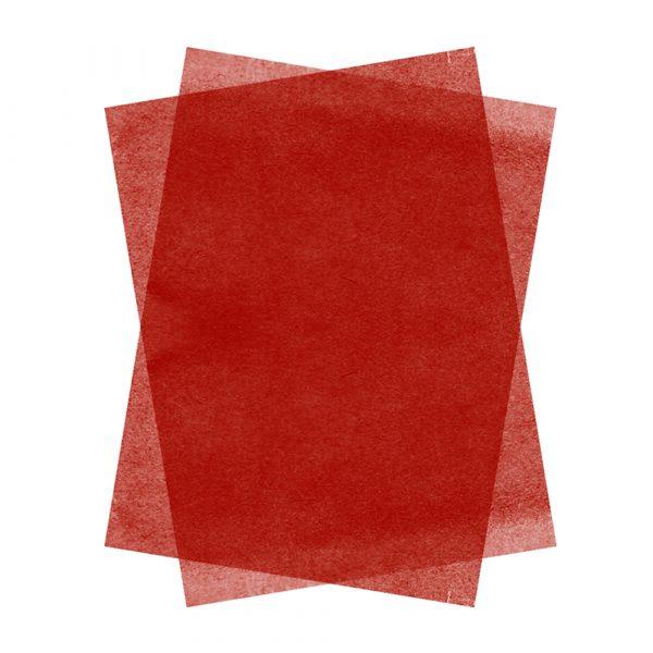 Hartie de matase SCARLET RED