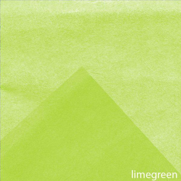 Hartie de matase LIME GREEN