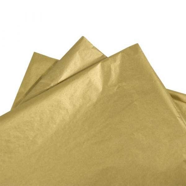 Hartie de matase GOLD METALIZED